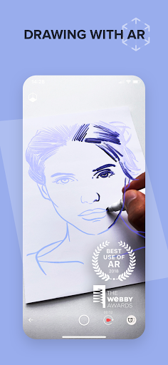 SketchAR: learn to draw step by step with AR