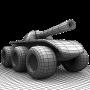 icon Six Wheels and a Gun