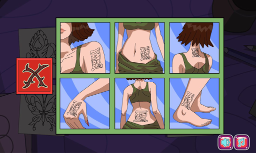 Tattoo shop spa salon