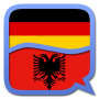 icon German Albanian dictionary
