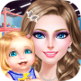 icon Mommy and Baby shopping Salon