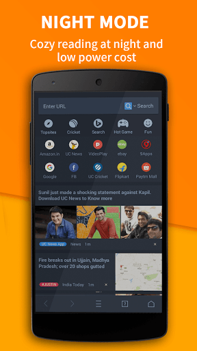 Free download UC Browser - Fast Download APK for Android
