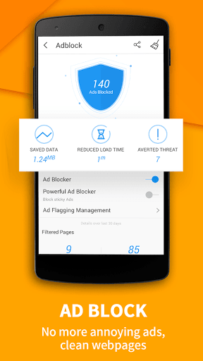 UC Browser - Fast Download for Samsung Galaxy J2 - free