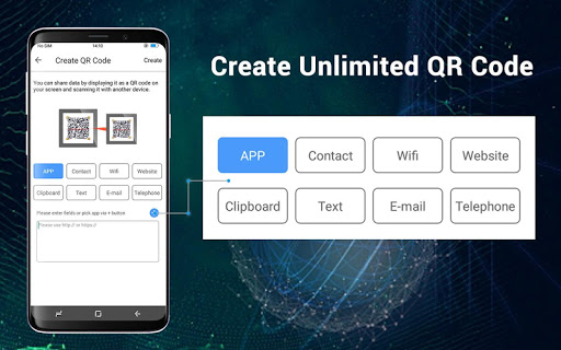 QR Code Scan & Barcode Scanner for Infinix Hot 4 Pro - free download