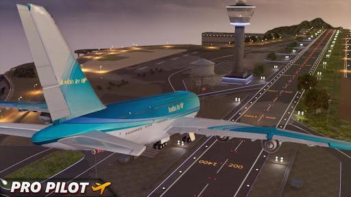 City Airplane Pilot Flight