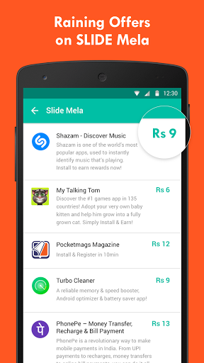 Free download Slide - Earn Free Recharge! APK for Android