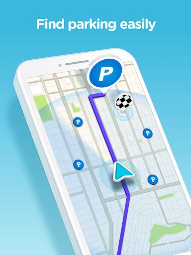 Waze - GPS, Maps & Traffic for ASUS Zenfone 4 - free download APK