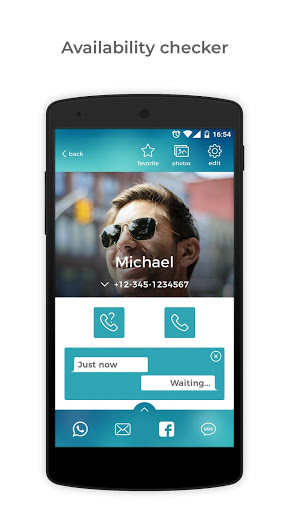 Caller ID, Dialer & Contacts Phone Book - Eyecon for Sony