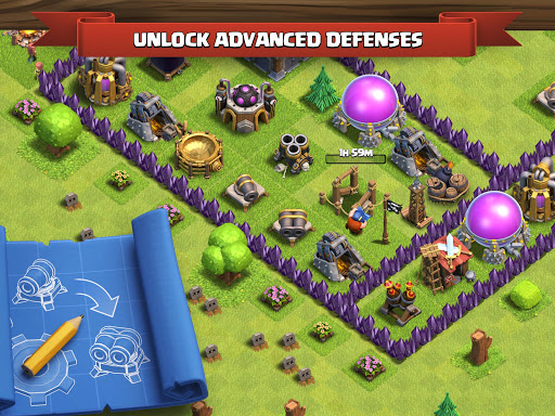Clash of Clans for Samsung Galaxy Ace Duos S6802 - free download APK