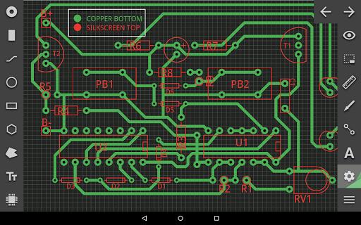 Nokia C101 Printed Circuit Board Pcb Board Front