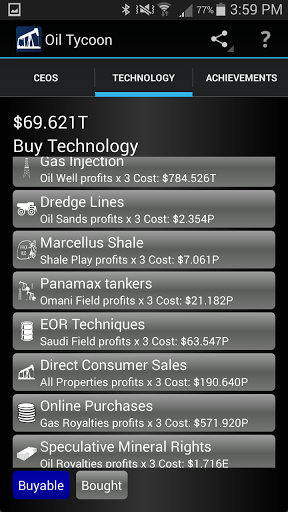Idle Oil Tycoon