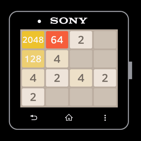 2048 for SmartWatch 2