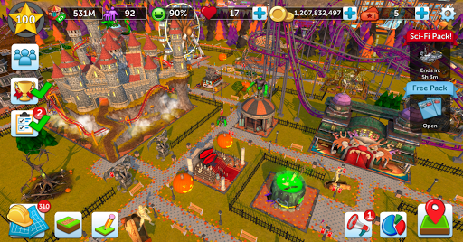 RollerCoaster Tycoon Touch for Coolpad Note 3 Plus - free download