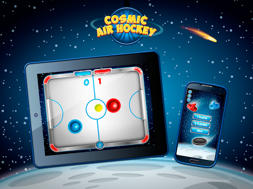 Cosmic Air Hockey