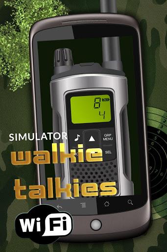 Simulator walkie talkies wifi