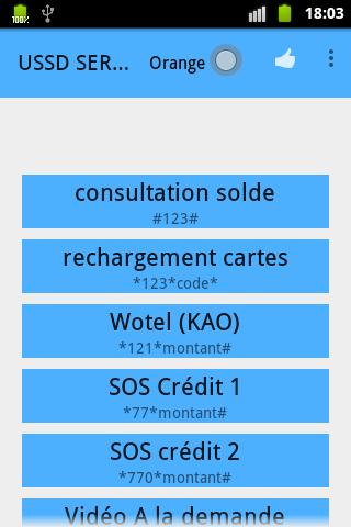 USSD SERVICES Senegal