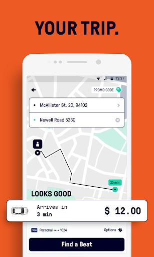 Taxibeat Free taxi app