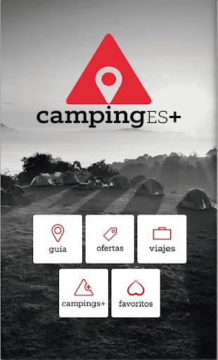 CampingES+ Camping in Spain
