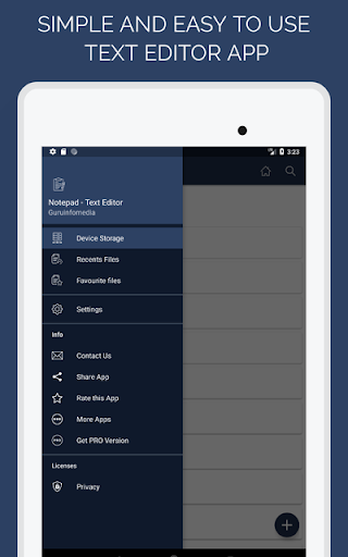 Notepad - Text Editor for ZTE ZMax Pro - free download APK
