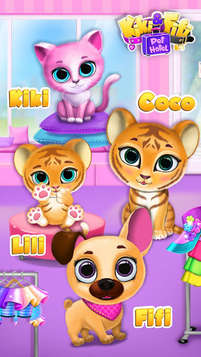 Kiki & Fifi Pet Hotel– My Virtual Animal House