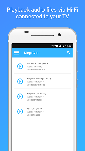 Free download MegaCast - Chromecast player APK for Android