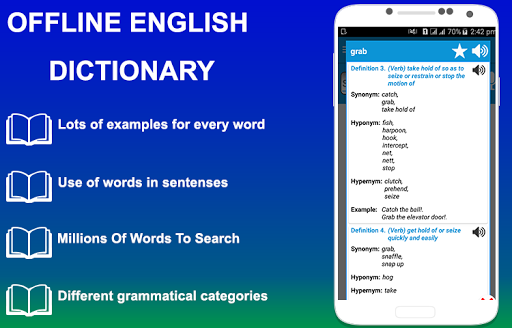 English Dictionary for Samsung Galaxy J7 Prime - free download APK