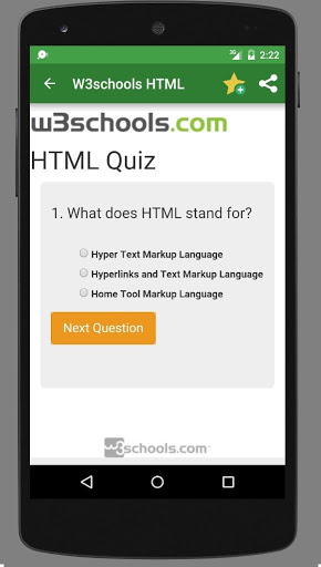 Free download W3schools Offline APK for Android