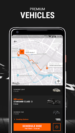 Free download myDriver - Chauffeur Service APK for Android