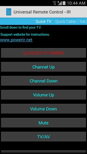Universal Remote Control for Samsung Galaxy J2 - free