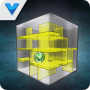 icon Cube Maze 3D Ball Travel