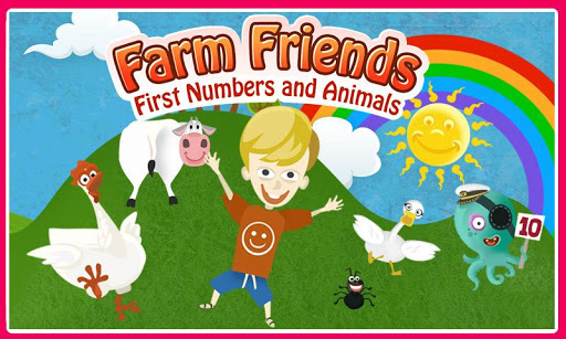 Farm Friends - Learn to Count