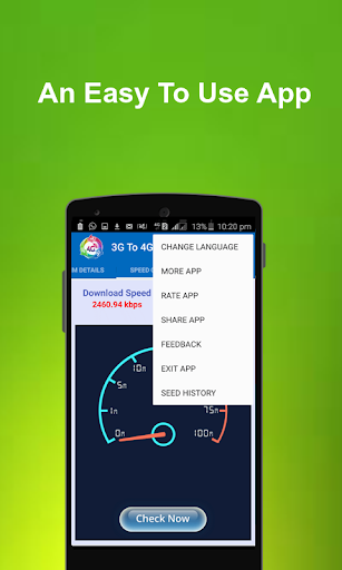 3G to 4G Converter - Simulator for Samsung Galaxy J1 Ace