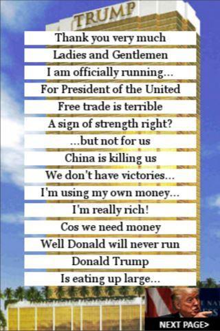 Donald Trump SoundBoard Lite