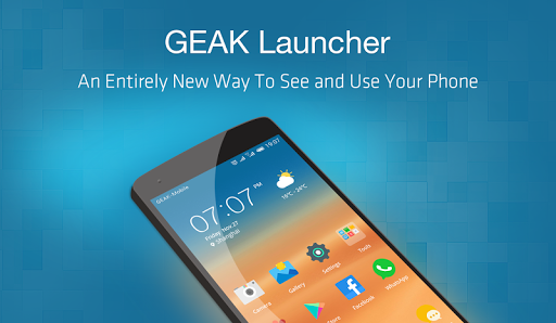 GEAK Launcher-Easy Fast Power for Samsung Galaxy S8 - free download