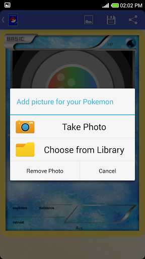 Card Maker-Pokemon