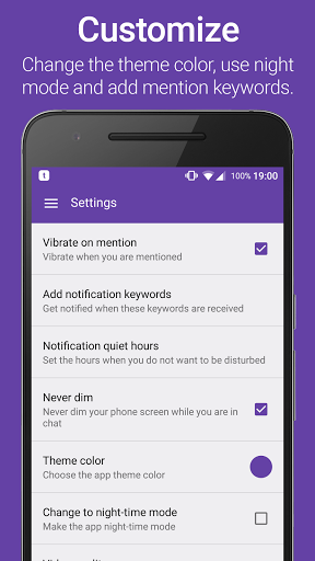 TChat for Twitch for Huawei P10 Lite - free download APK