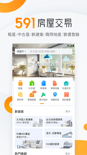 591 housing transactions - renting houses, middle-aged houses, new cases, storefronts, top let