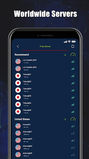 Free VPN SecVPN: Fast Unlimited Secure Proxy
