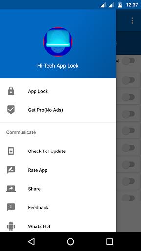 AppLock: PIN,Pattern & Fingerprint Support for Inoi 8 - free