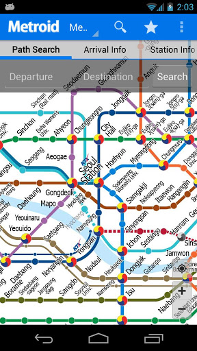 Korea Subway Info : Metroid