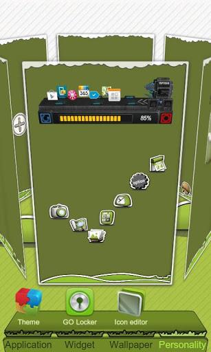 Next Launcher Theme P.Sheep