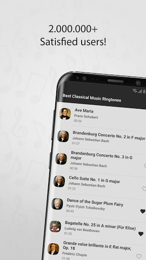 Best Classical Music Ringtones for Samsung Galaxy S8 - free download