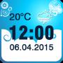 icon Weather Clock Widget