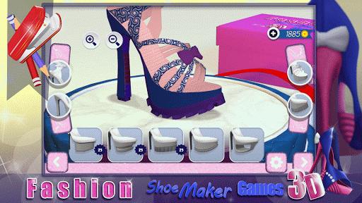 Fashion Shoe Maker Games 3D