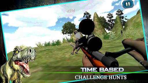 Dinosaur Sniper Sharpshooter