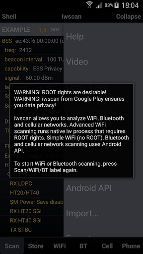Free download iwscan  Analyzer [ROOT] APK for Android