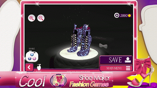 Cool Shoe Maker Fashion Games