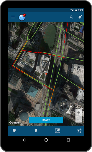 Fake gps - fake location for Samsung Galaxy Note 8 - free download