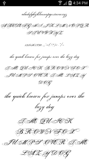 Fonts for FlipFont 50 11 for Cube M5 - free download APK