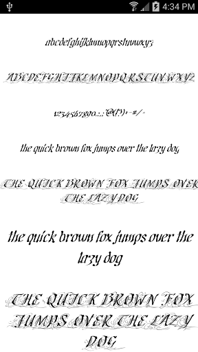 Fonts for FlipFont 50 11 for Samsung Galaxy J7 Pro - free